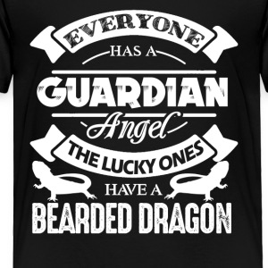 The Lucky One Has Beard Dragon Shirt - Toddler Premium T-Shirt