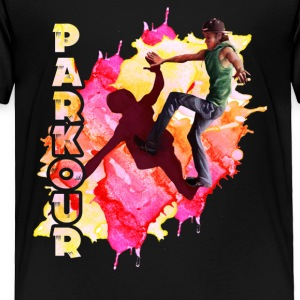 parkour player shirt - Toddler Premium T-Shirt