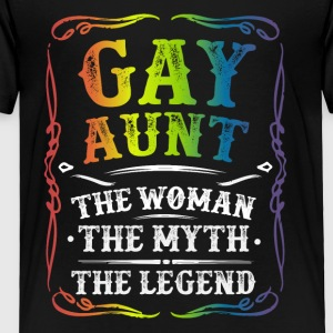 Gay Aunt The Legend - Toddler Premium T-Shirt