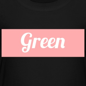 Green Supreme Peach Colorway - Toddler Premium T-Shirt