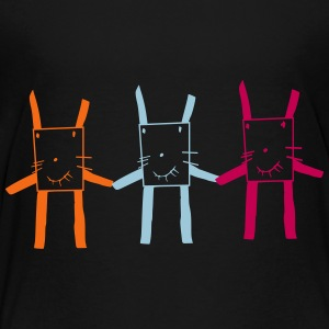square rabbit brothers - Toddler Premium T-Shirt