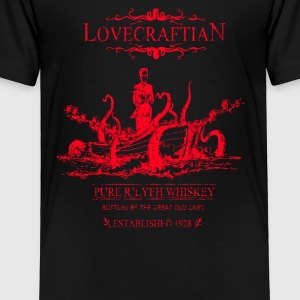 Lovecraftian R lyeh Whiskey Red Label - Toddler Premium T-Shirt