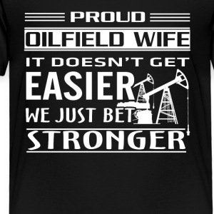 Oilfield Worker Tee Shirt - Toddler Premium T-Shirt