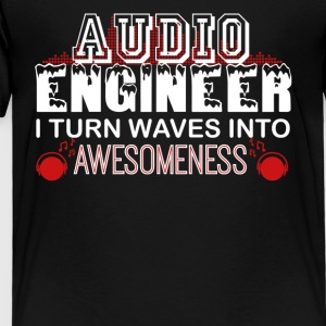 Audio Engineer Tshirt - Toddler Premium T-Shirt