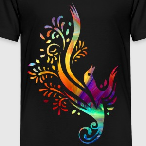 Colorful bird - Toddler Premium T-Shirt