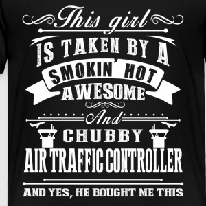 Awesome Air Traffic Controller Shirt - Toddler Premium T-Shirt