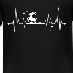 mountain goat heart shirt - Toddler Premium T-Shirt