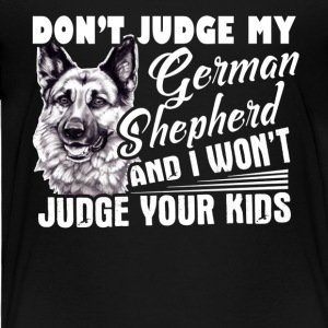 German Shepherd Tshirt - Toddler Premium T-Shirt