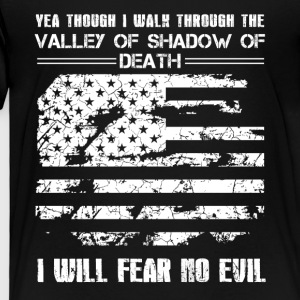 Patriotic Fear No Evil Shirt - Toddler Premium T-Shirt