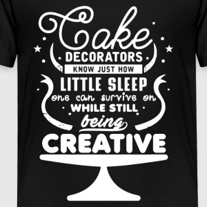 Cake Decorators Shirt - Toddler Premium T-Shirt