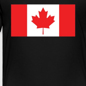 Flag of Canada Cool Canadian Flag - Toddler Premium T-Shirt