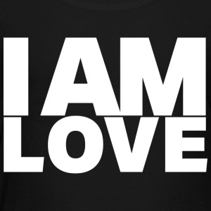 I Am Love - Ivy Design (White Letters) - Toddler Premium T-Shirt