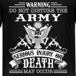 Army Tee Shirt - Toddler Premium T-Shirt