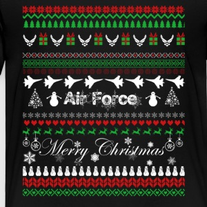 Air Force T shirt - Air Force Christmas Shirt - Toddler Premium T-Shirt