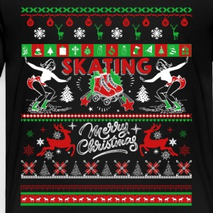 Skating Shirt - Skating Christmas Shirts - Toddler Premium T-Shirt