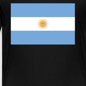 Flag of Argentina Cool Argentinian Flag - Toddler Premium T-Shirt
