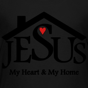 Jesus, My Heart & My Home - Toddler Premium T-Shirt