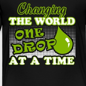 Essential Oils Changing The Word One Drop A Time - Toddler Premium T-Shirt