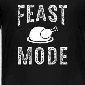Feast Mode Funny Thanksgiving Beast TShirt - Toddler Premium T-Shirt
