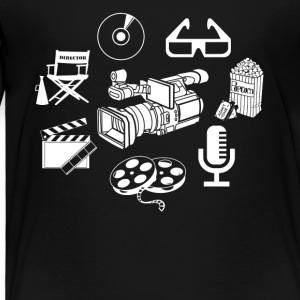 Filming Filmmaker Shirt - Toddler Premium T-Shirt
