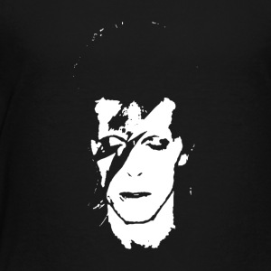 David Bowie Guitar pop rock N roll - Toddler Premium T-Shirt