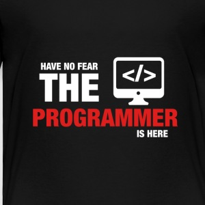 Have No Fear The Programmer Is Here - Toddler Premium T-Shirt