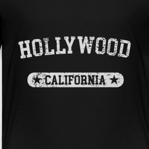 Hollywood California - Toddler Premium T-Shirt
