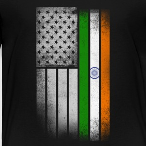 Indian American Flag - Toddler Premium T-Shirt