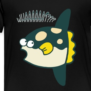 WHAATT?? CUTE fish asking - Toddler Premium T-Shirt