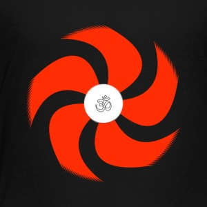 positive vibe with the spinning OM - Toddler Premium T-Shirt