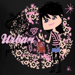 urban princess - Toddler Premium T-Shirt