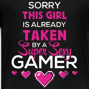 A Super Sexy Gamer T Shirt - Toddler Premium T-Shirt