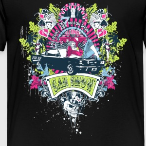 motor_show_cars_and_girls - Toddler Premium T-Shirt