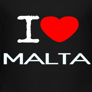 I LOVE MALTA - Toddler Premium T-Shirt