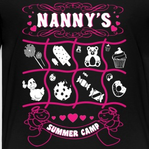 Nanny's Summer Camp T Shirt T Shirt - Toddler Premium T-Shirt