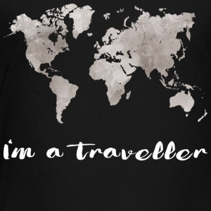 I'm a traveller - Toddler Premium T-Shirt