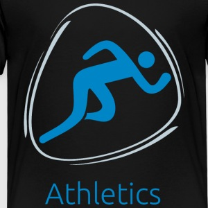 Athletics_blue - Toddler Premium T-Shirt