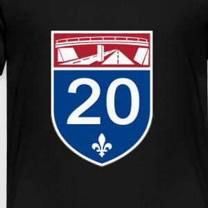 Autoroute_20 - Toddler Premium T-Shirt