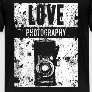 LOVE PHOTOGRAPHY - Toddler Premium T-Shirt
