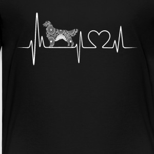 golden retriever heartbeat shirt - Toddler Premium T-Shirt