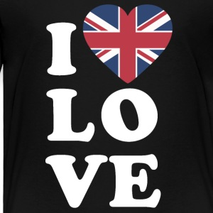 I love england - Toddler Premium T-Shirt
