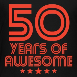 50 Years Of Awesome 50th Birthday - Toddler Premium T-Shirt