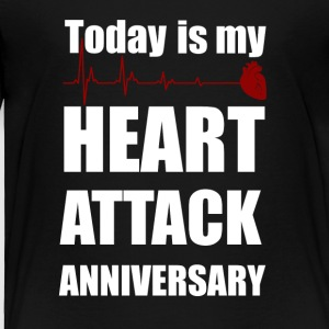 Heart attack anniversary - Toddler Premium T-Shirt