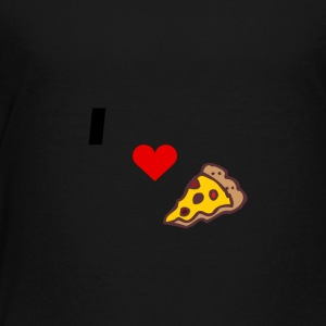 I love pizza - Toddler Premium T-Shirt