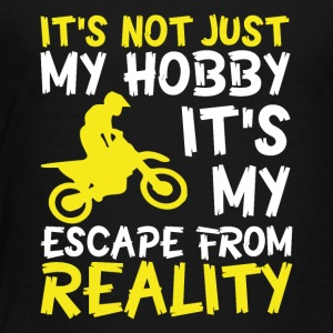 Motorbike escape from reality - Toddler Premium T-Shirt