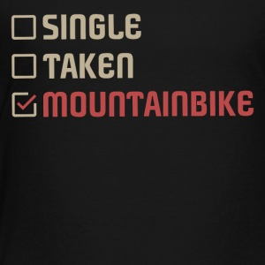 Single Taken Mountainbike - Toddler Premium T-Shirt