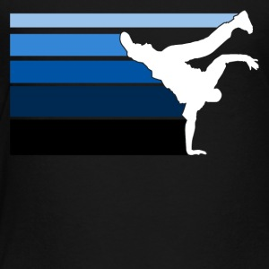 B BOY blue gradient pattern - Toddler Premium T-Shirt