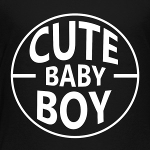 Cute baby boy - Toddler Premium T-Shirt