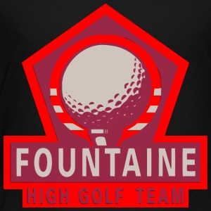 Fountaine High Golf Team - Toddler Premium T-Shirt