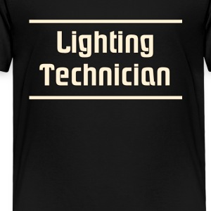 Lighting technician - Toddler Premium T-Shirt